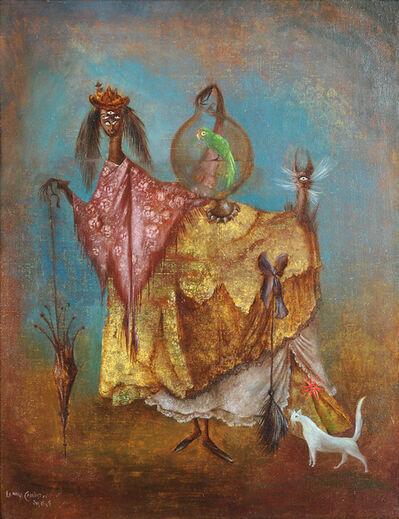 Leonora Carrington, 'La Artista viaja de incognito', 1949