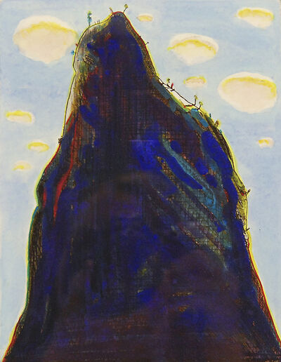Wayne Thiebaud, 'Mountain Clouds', 1964/1986