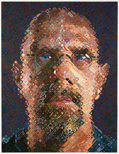 Chuck Close, 'Self-Portrait', 2007