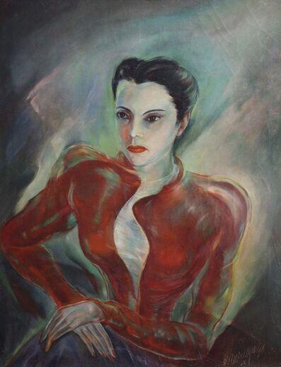 Carlos Enriquez, 'Retrato de Marta', 1942
