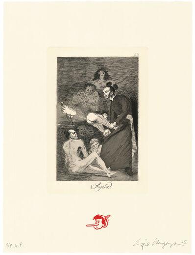 Enrique Chagoya, 'Sopla / Gust the wind', 2015