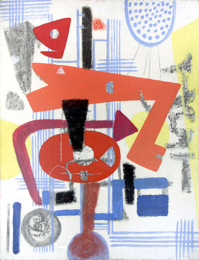 Max Ackermann, 'Bild 72 ', 1949