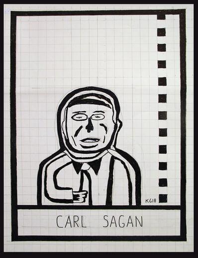 Ken Grimes, 'Carl Sagan', 2018