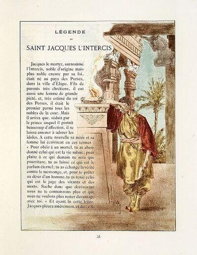 Alexandre Lunois, 'La légende dorée', 1896