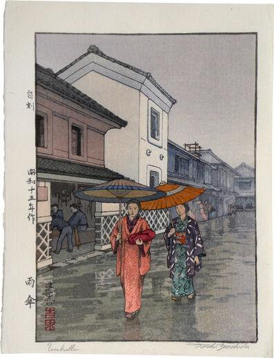 Toshi Yoshida, 'Umbrella (Amagasa)', 1940