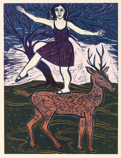 Eileen Cooper, 'Diana and Actaeon', 2014