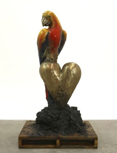 Jim Dine, 'Colorful Parrot at Home', 2007