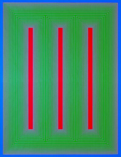 Richard Anuszkiewicz, 'Temple of Blue, Green, and Red', 1984
