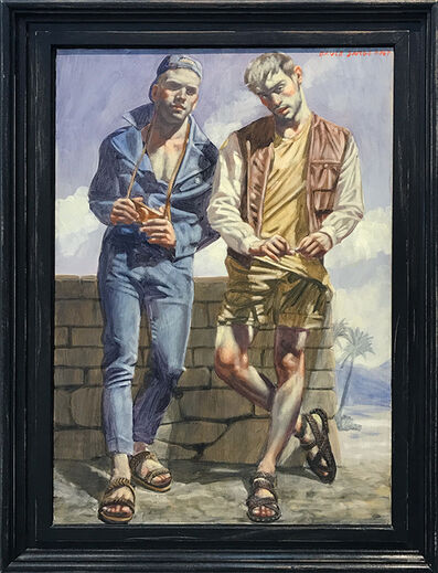 Mark Beard, '[Bruce Sargeant (11898-1938)] Two Young Men in Sandals'