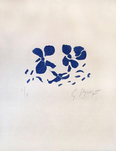 Georges Braque, 'Fleurs Bleues (Ed. 2 of 10)', 1962
