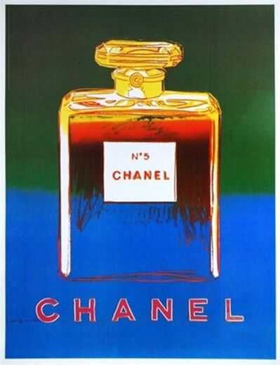 Andy Warhol, 'Chanel No. 5 (Blue & Green)', ca. 1997