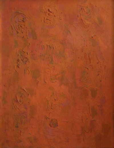 Ralph Wickiser, 'Orange Compassion', 1954