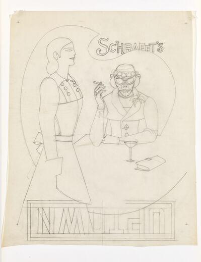 Richard Lindner, 'Schrafft`s', 1969