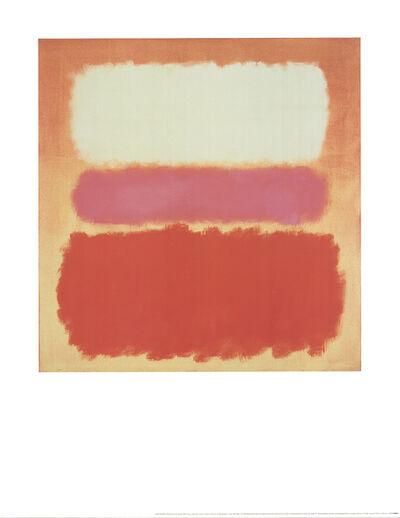 Mark Rothko, 'White Cloud over Purple', 1995