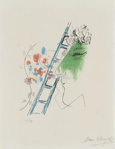 Marc Chagall, 'L'ÉCHELLE'