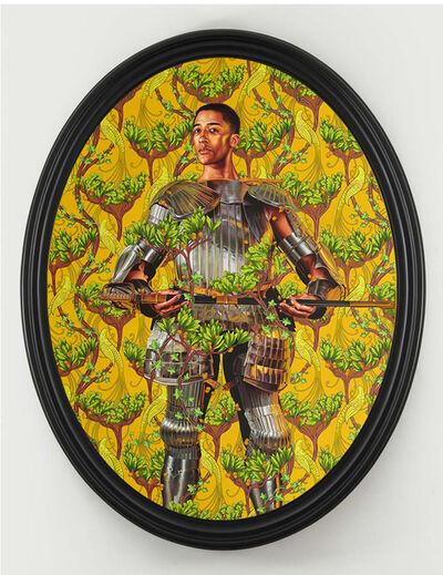 Kehinde Wiley, 'Portrait of Harper Watters', 2019