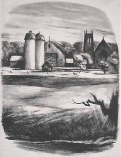 Benton Spruance, 'Newtorn Towers', 1947