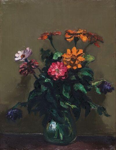Alberto Ziveri, 'Vase with flowers', 1941