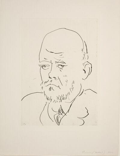 Pablo Picasso, 'Portrait of Vollard, IV', 1937