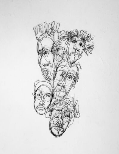 joseph janson, '5 Heads', 2019