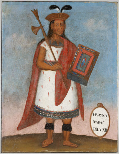 'Portrait of Huayna Capac, Inca XII ', 19th century