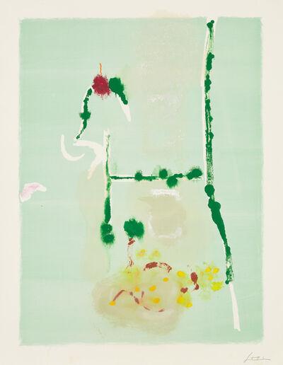 Helen Frankenthaler, 'Spring Run V', 1996