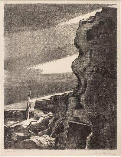 Paul Nash, 'German Double Pill-box, Gheluvelt', 1918