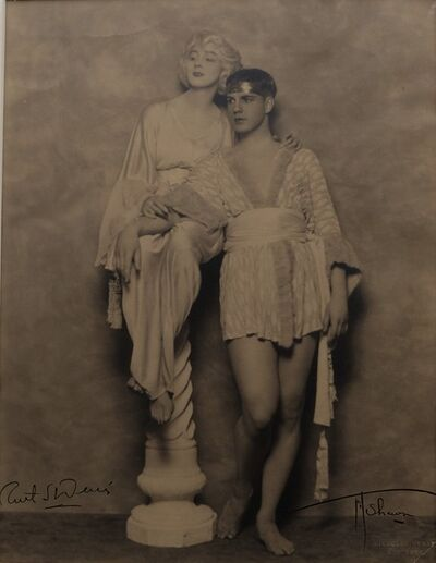 Nickolas Muray, 'Ruth St. Denis and Ted Shawn', 1920