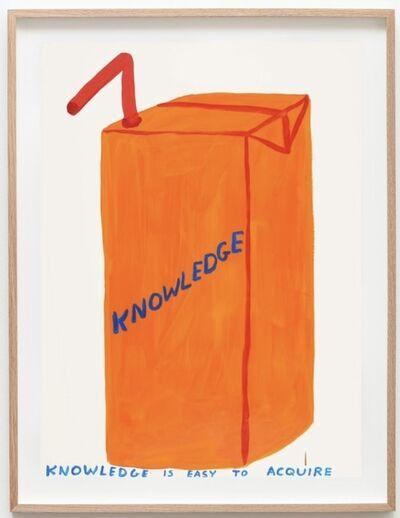 David Shrigley, 'Untitled (Knowledge)', 2020