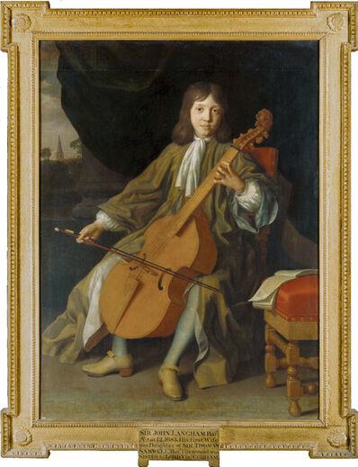Frederick Kerseboom, 'Sir John Langham, Bt. (1671 – 1747), as a boy aged 12, playing the viola da gamba', 1683