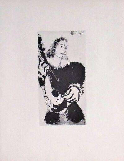 Pablo Picasso, 'La Serenade', 1968