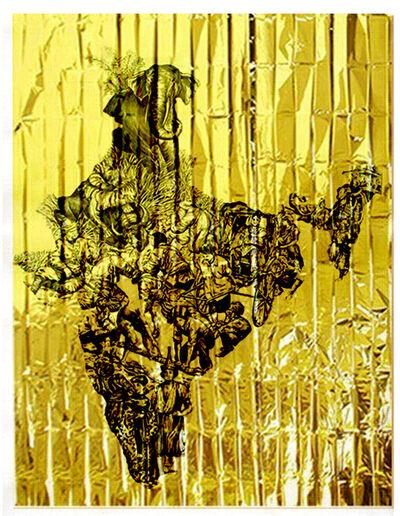 Pietro Ruffo, 'Gold Migration, India', 2020