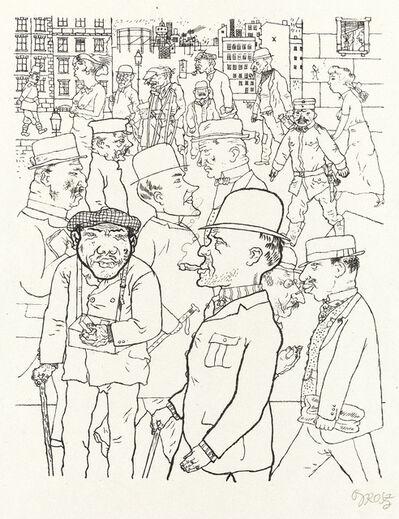 George Grosz, 'Vollkommene Menschen', 1920
