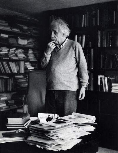 Ernst Haas, 'Albert Einstein, Princeton, New Jersey', 1953