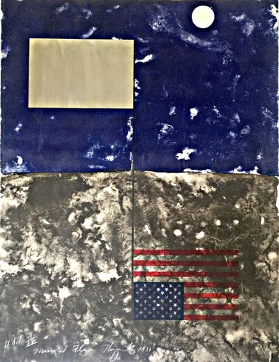 James Rosenquist, 'Mirrored American Flag (from Cold Light Series) ', 1971