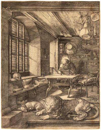 Albrecht Dürer, 'Saint Jerome in His Study', c. 1514