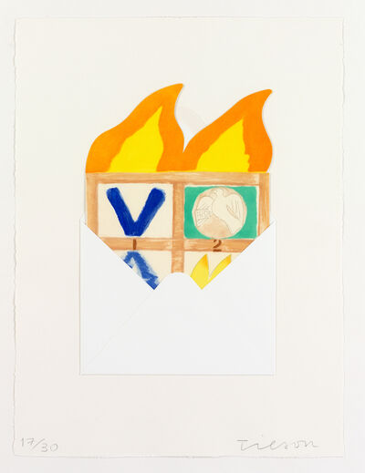 Joe Tilson RA, 'Postcard from Venice, Ruga', 2008