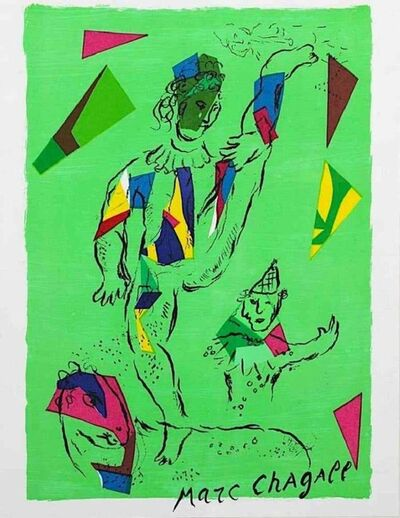 Marc Chagall, 'The Green Acrobat', 1979