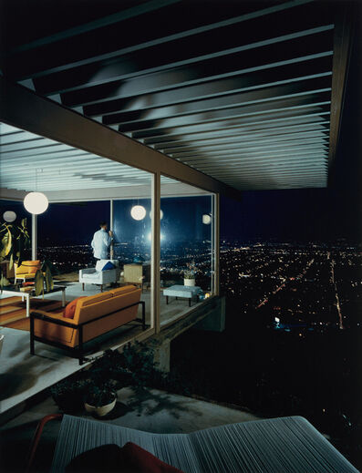 Julius Shulman, 'Case Study House No. 22, Los Angeles, Pierre Koenig, Architect', Photographed in 1960 and printed in 2000