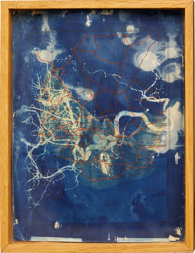 Barnaby Irish, 'Subtracted Cartography 1', 2019