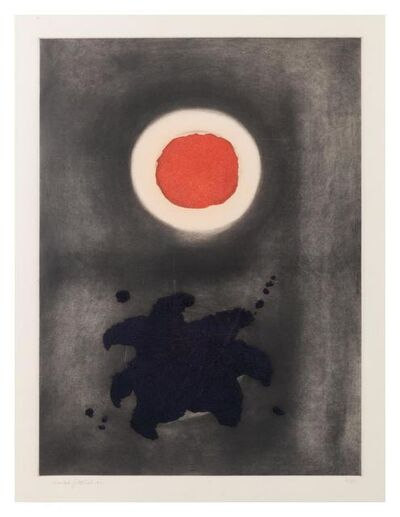 Adolph Gottlieb, 'Night Glow', 1971