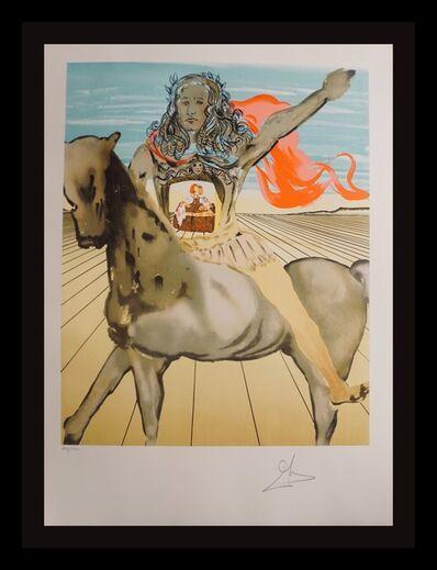 Salvador Dalí, 'Chevalier Surréaliste With Original portfolio cover', 1980
