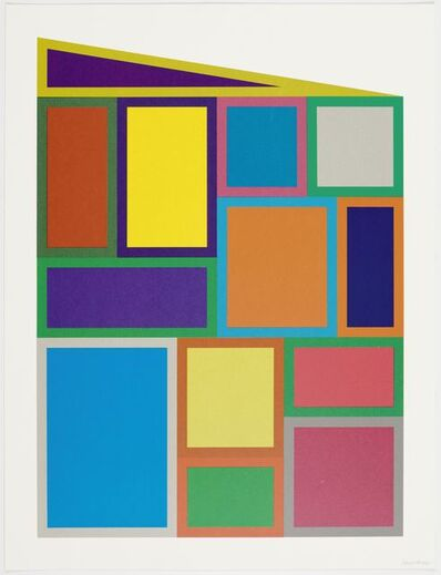 Sol LeWitt, 'Color rectangles', 1995