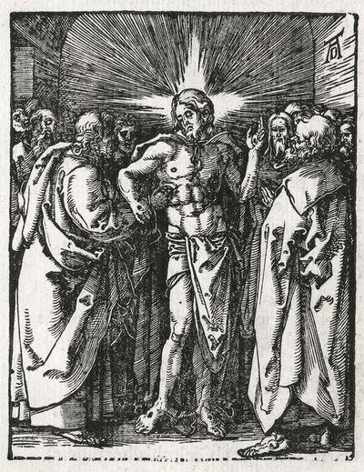 Albrecht Dürer, 'Doubting Thomas', 1612