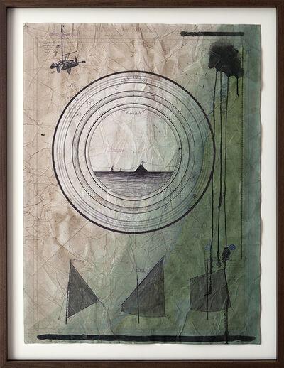 Jonathan Goldman, 'No Land Map #7', 2016