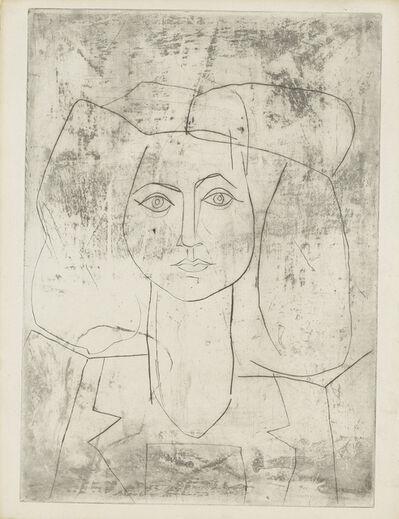 Pablo Picasso, 'Portrait de Françoise, en costume teilleur', 1946