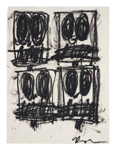 Rashid Johnson, 'Untitled Anxious Drawing', 2017