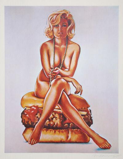 Mel Ramos, 'Verna Burger', 1965