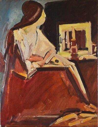 Dennis Creffield, 'Seated Figure', ca. 1960