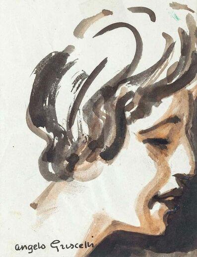 Angelo Griscelli, 'Portrait', 1950s